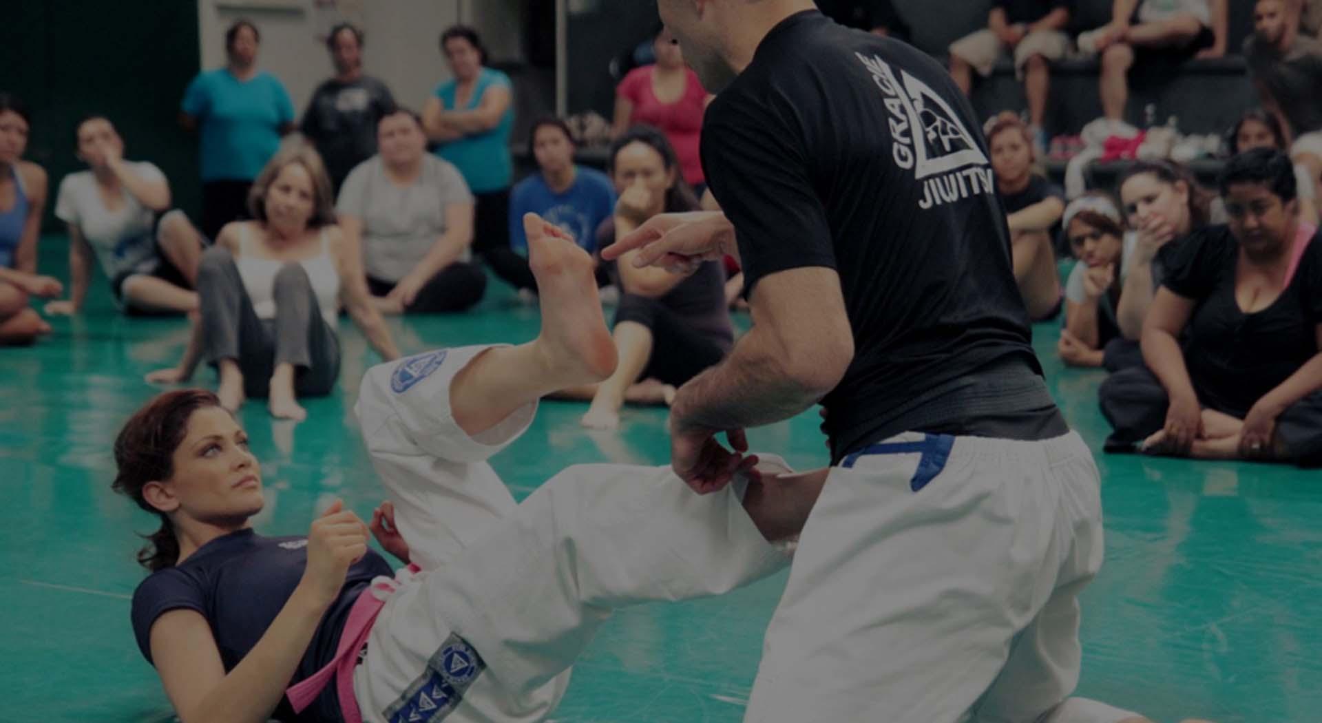 Gracie Jiu-Jitsu kobiety